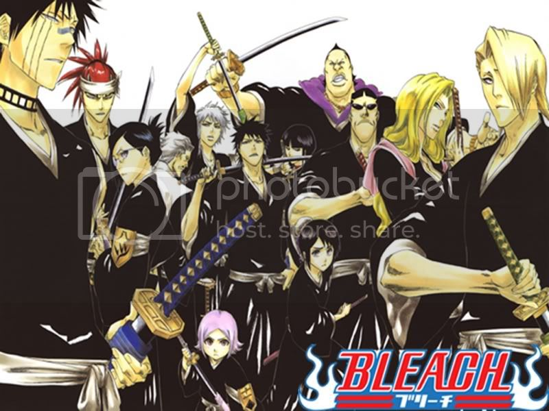 All Lieutenants from Bleach Pictures, Images and Photos