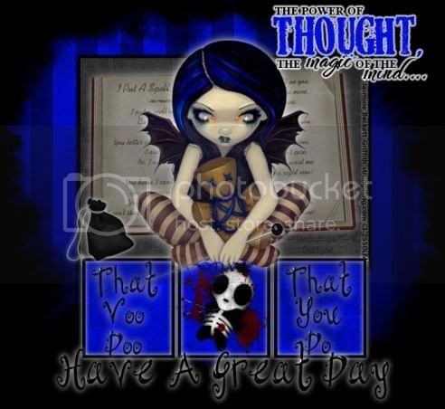 Have A Great Day JBG Voodoo Dark Angel Designz Michelle Pictures, Images and Photos